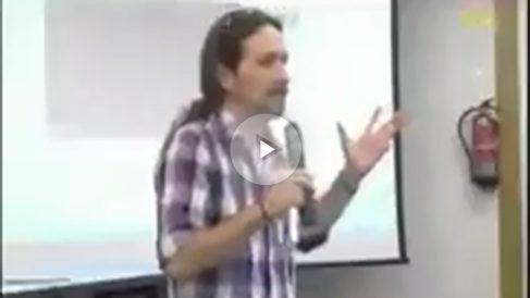 Patinazo de Pablo Iglesias al confundir a Newton con Einstein.