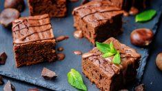 Receta de Pastel de chocolate y castañas