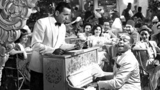 Imagen de la película Casablanca.
