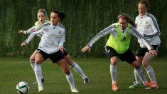 La selección alemana, en un entrenamiento en Marbella. (Getty)