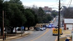 Policía desplegada en Alabama (Foto: AL.com)