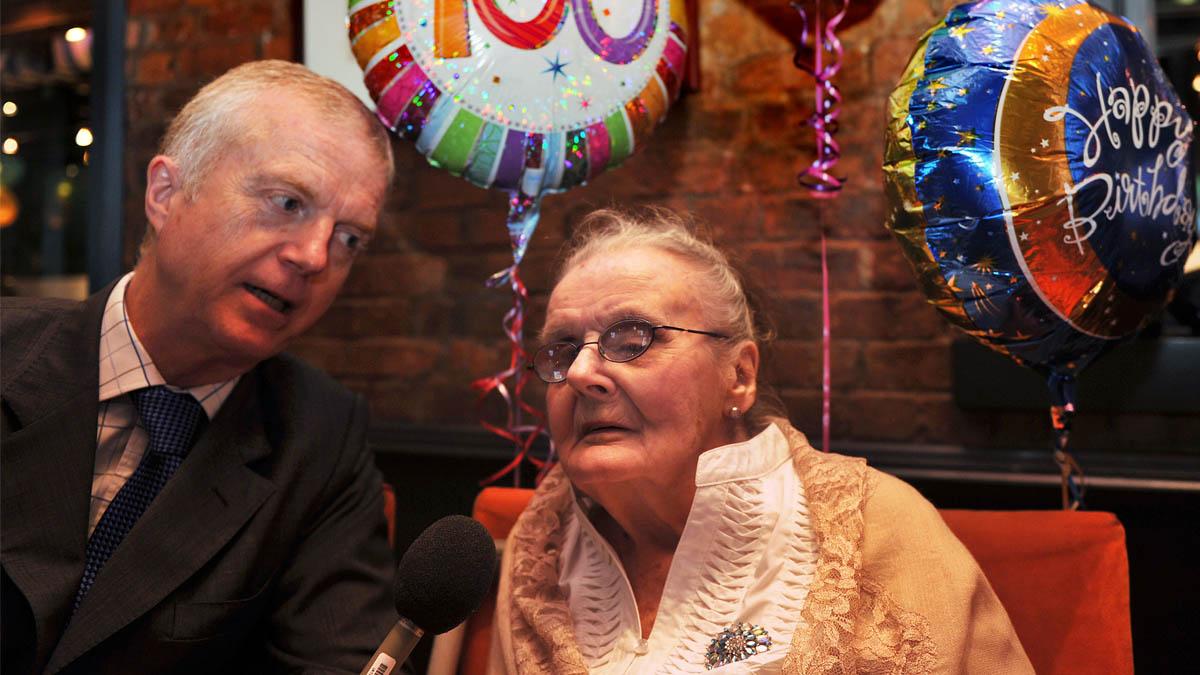Clare Hollingworth ha fallecido a los 105 años de edad (Foto: AFP)