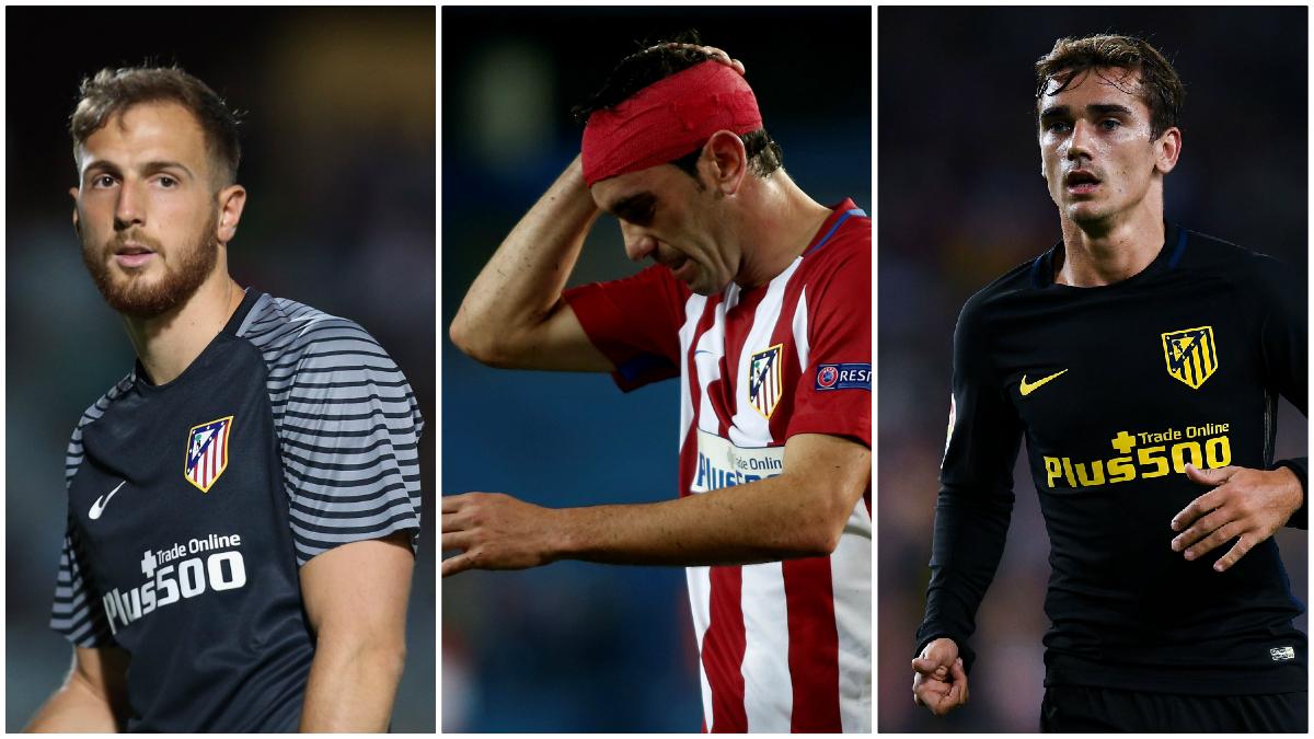 Oblak, Godín y Griezmann los futbolistas del Atlético olvidados por la FIFA