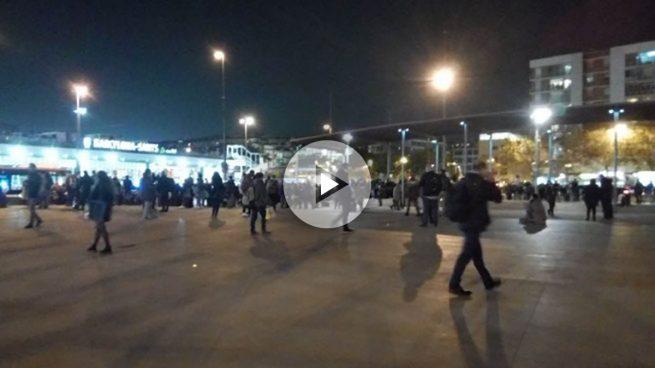 Desalojan hora y media la estación de Sants en Barcelona por una falsa alarma de bomba