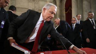 Jeff Sesions, próximo secretario de Justicia en Estados Unidos (Foto: AFP)