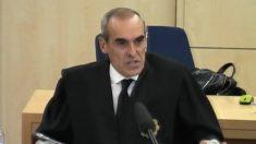 El fiscal Alejandro Luzón en el juicio de las Tarjetas Black de Caja Madrid.