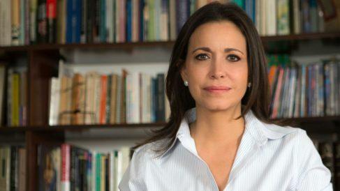María Corina Machado, líder de Vente Venezuela, partido integrado en la MUD. (Foto: OKDIARIO)