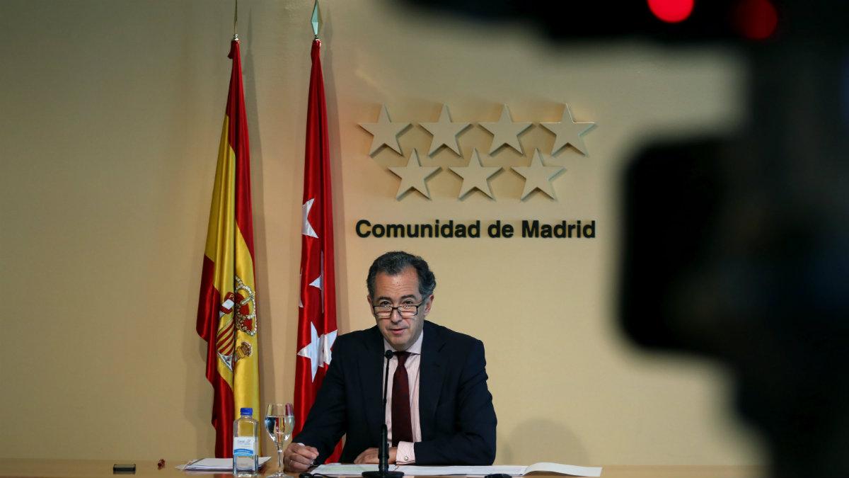 Portavoz del Grupo Popular en la Asamblea de Madrid, Enrique Ossorio. (CAM)