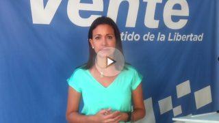 María Corina Machado, líder opositora venezolana, habla para OKDIARIO.