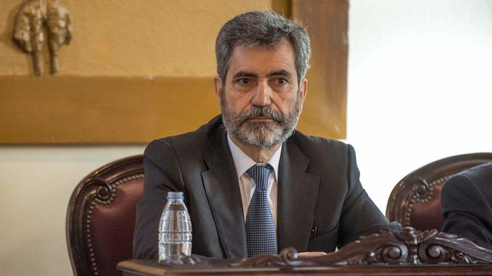 Carlos Lesmes, presidente del TS y del CGPJ. (Foto: EFE)
