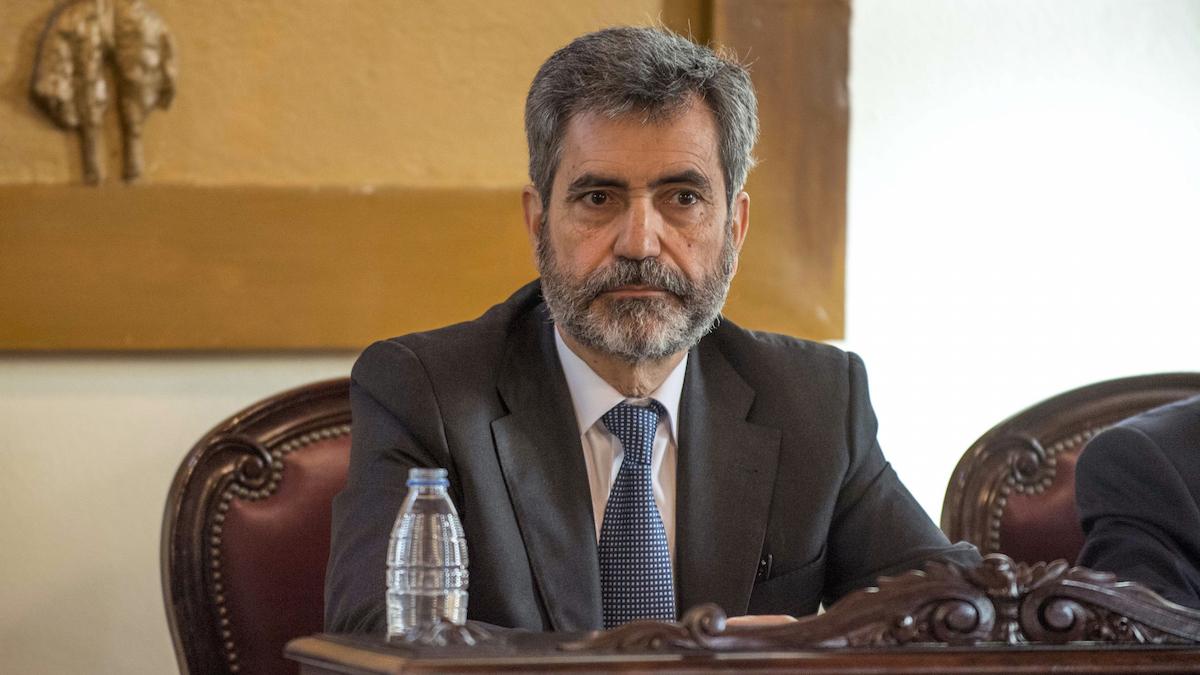 Carlos Lesmes, presidente del CGPJ (Foto: EFE)