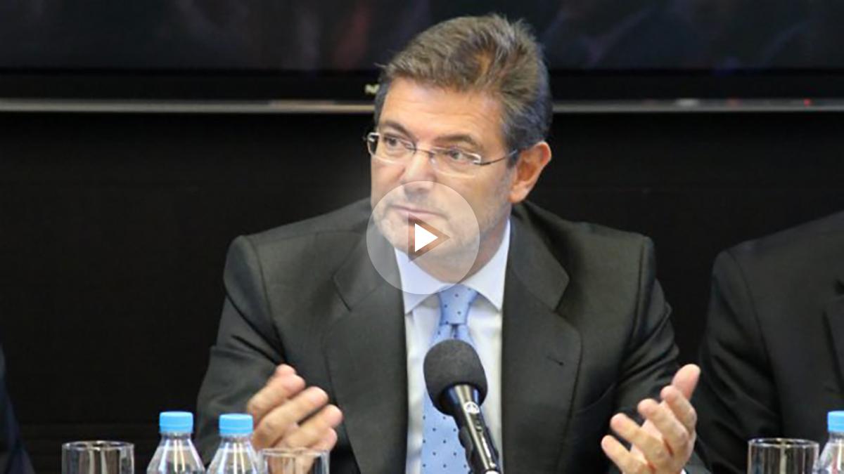 Rafael Catalá, ministro de Justicia. (OKD)