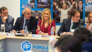 La presidenta de la Gestora del PP en Madrid, Cristina Cifuentes. (Foto: PP)