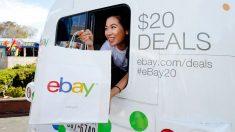 Acción comercial de EBay en San Francisco por su 20 aniversario (Foto: Getty)