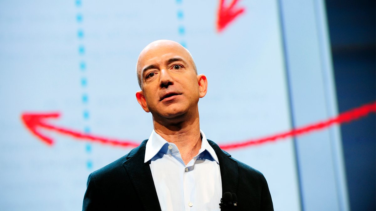 Jeff Bezos, CEO de Amazon (Foto: AFP)