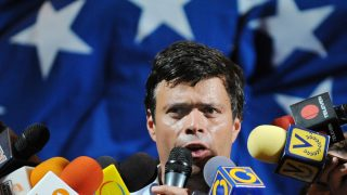 Leopoldo López. (Foto: AFP)