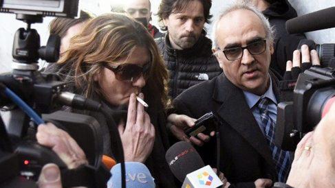 Margarita Garau y Alberto Martín. (Foto: EFE)