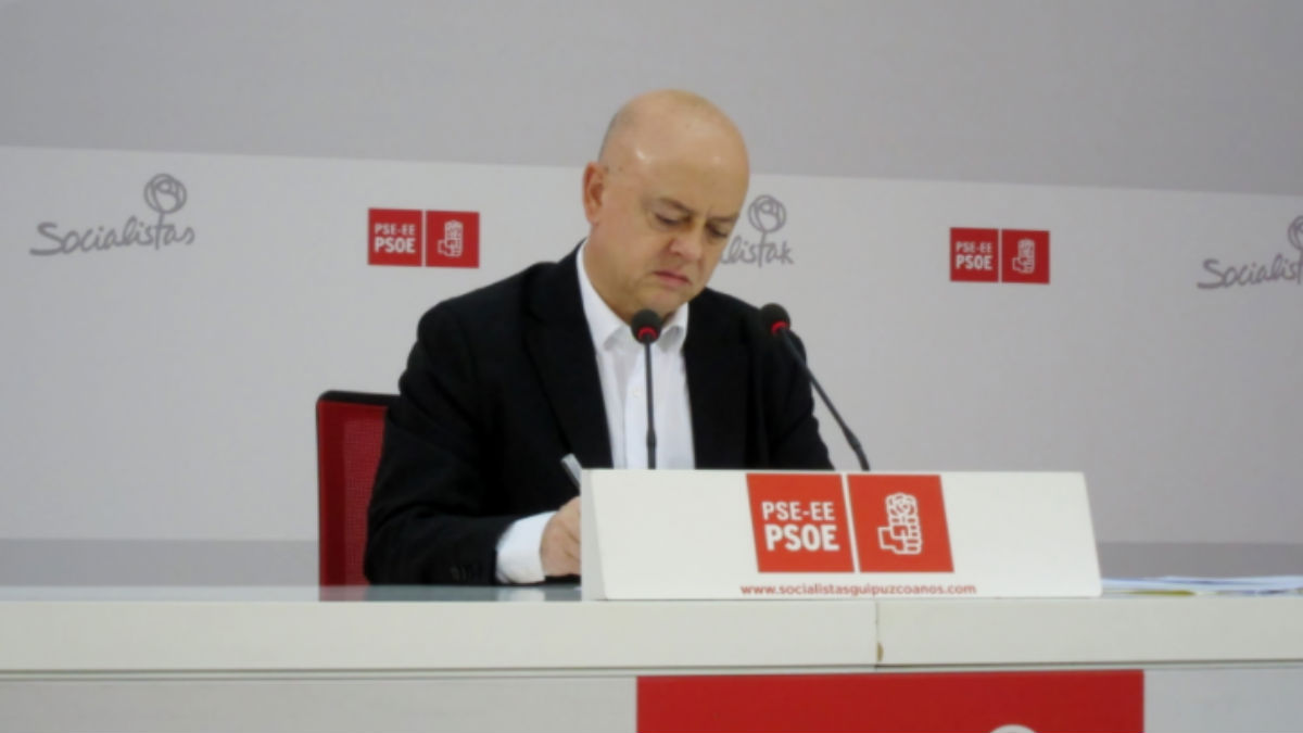 El diputado vasco Odón Elorza. (Foto: PSOE)