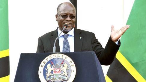John Magufuli en una reciente imagen (Foto: AFP).