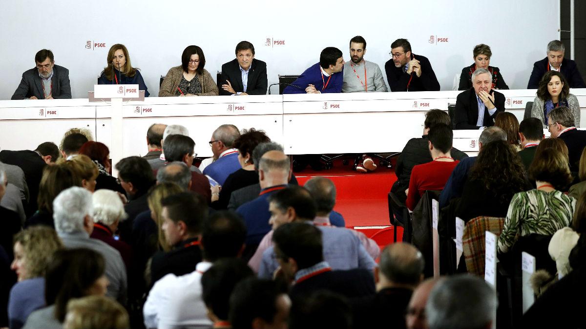 El Comité Federal del PSOE este sábado (FOTO:EFE)