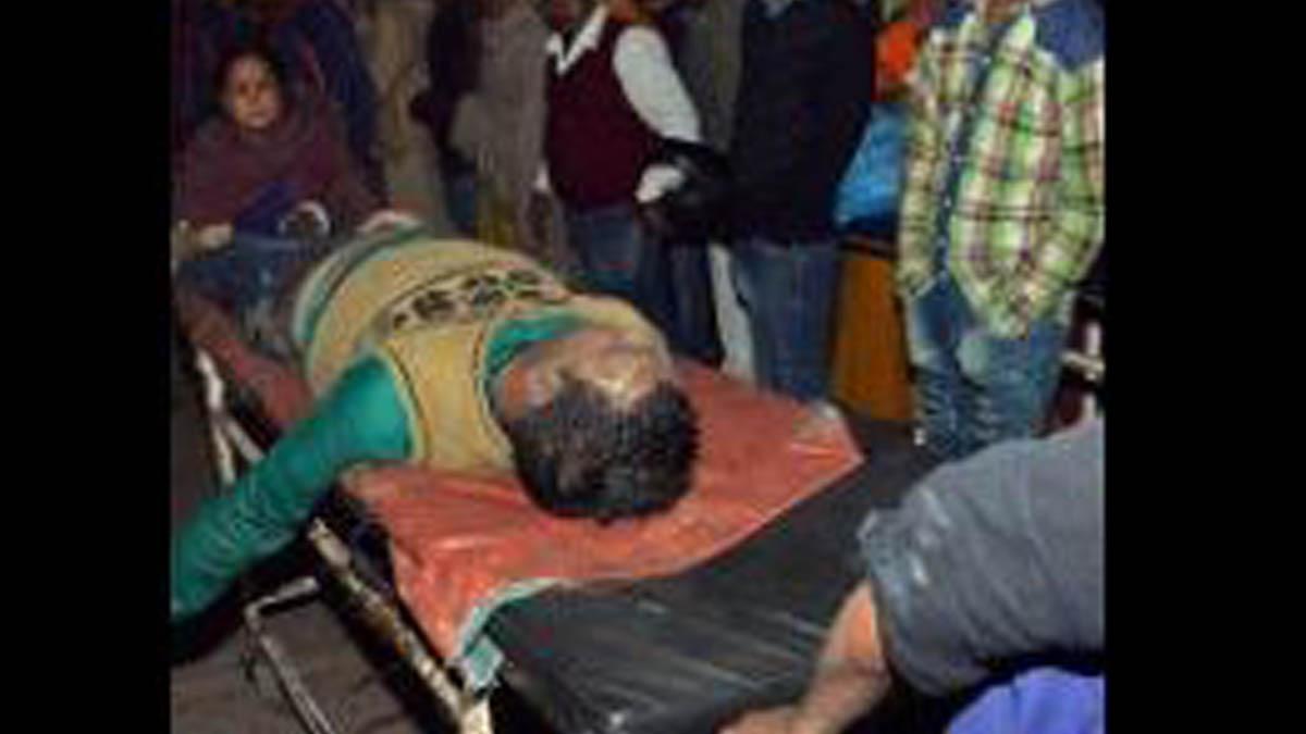 Accidente en el Río Ganges.