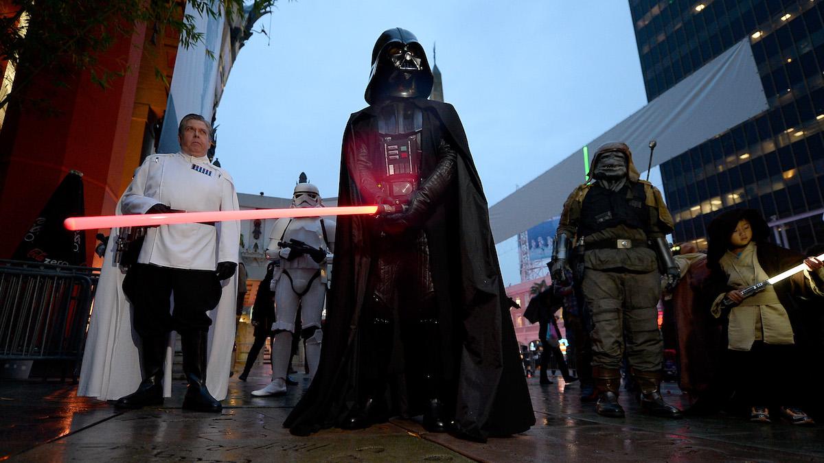Estreno de «Rogue One» en Hollywood. (Foto: Getty Images)