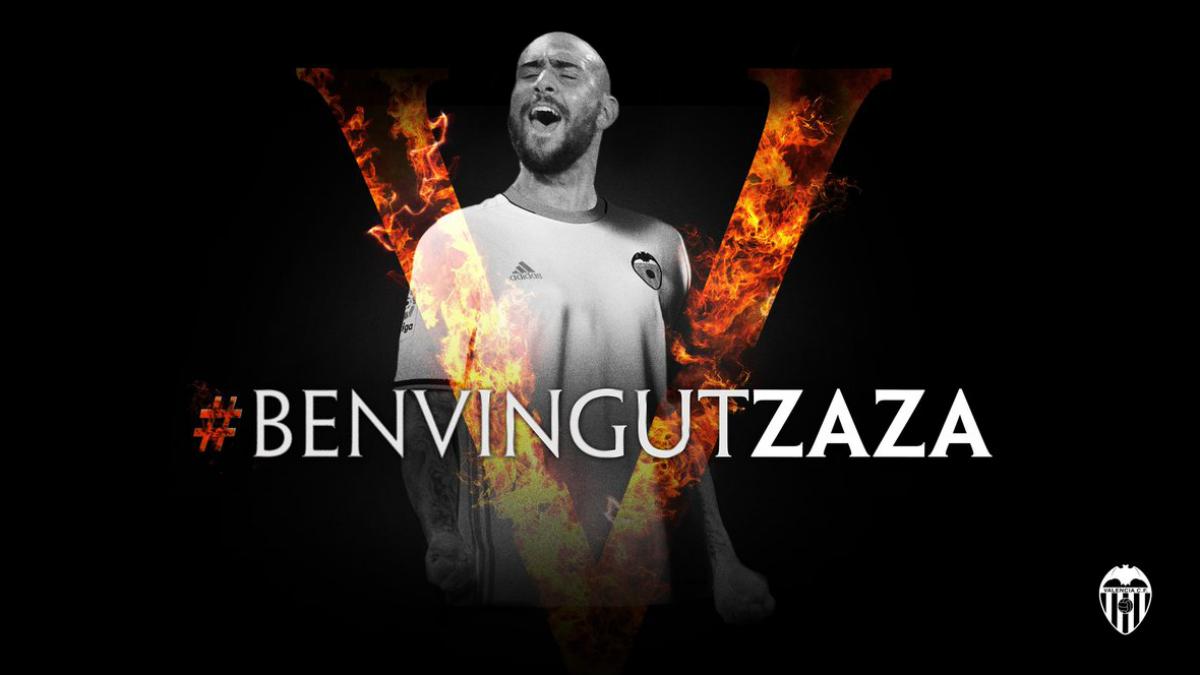 El Valencia anuncia el fichaje de Simone Zaza. (valenciacf.com)