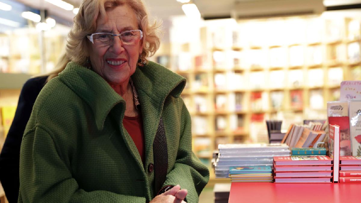 La regidora Carmena (Foto: Madrid)