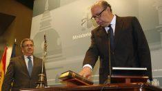 Germán López, director general de la Policía y Juan Ignacio Zoido, ministro de Interior.