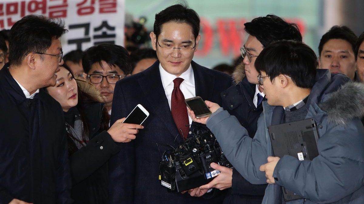 Lee Jae-Yong, presidente de Samsung. (Foto: Getty)