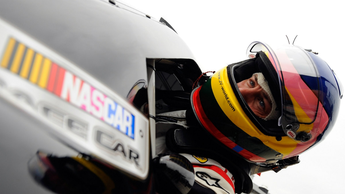 Villeneuve, en la fórmula Nascar. (Getty)