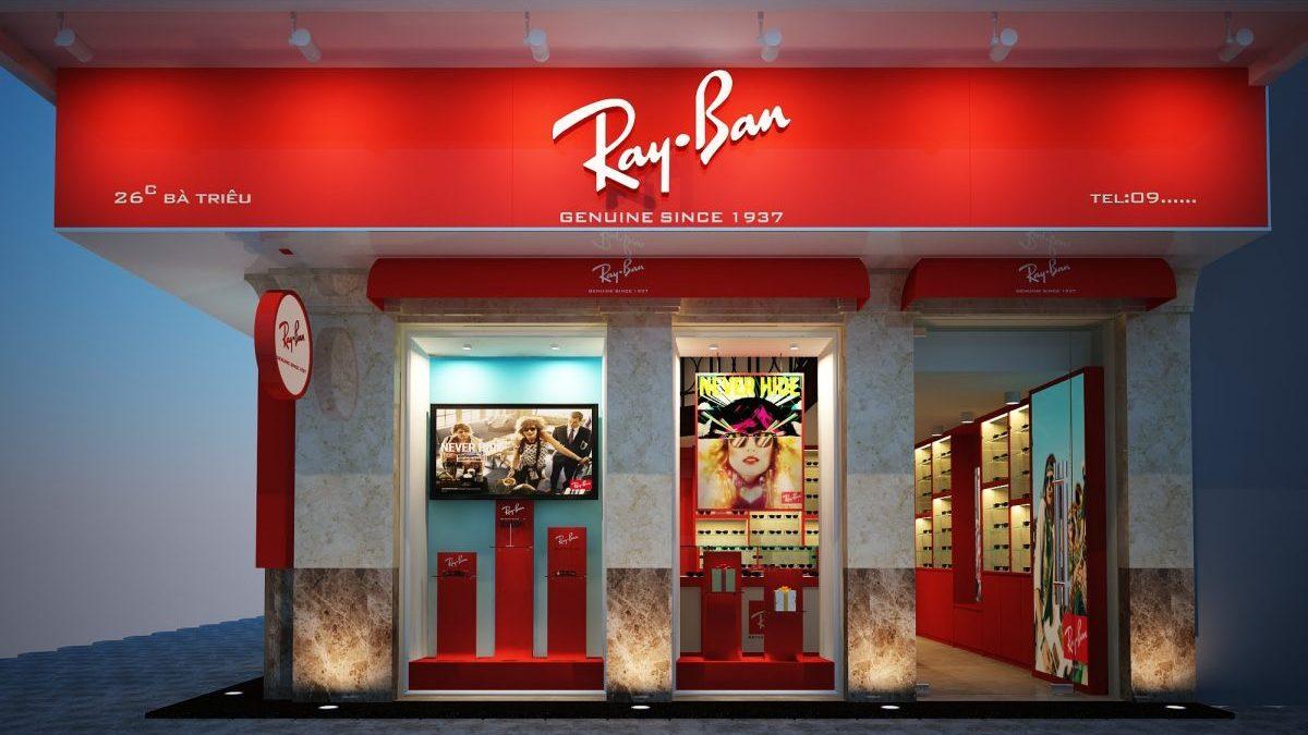 Tienda de Ray Ban (Foto: Youtube)