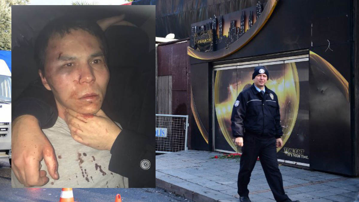 Abdulgadir Masharipov, frente a la discoteca Reina donde cometió la matanza de Nochevieja en Estambul (Foto: Daily Sabah)