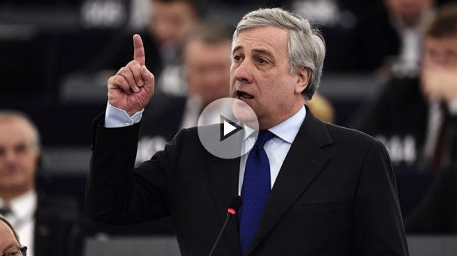 El conservador italiano Antonio Tajani es elegido nuevo presidente de la Eurocámara