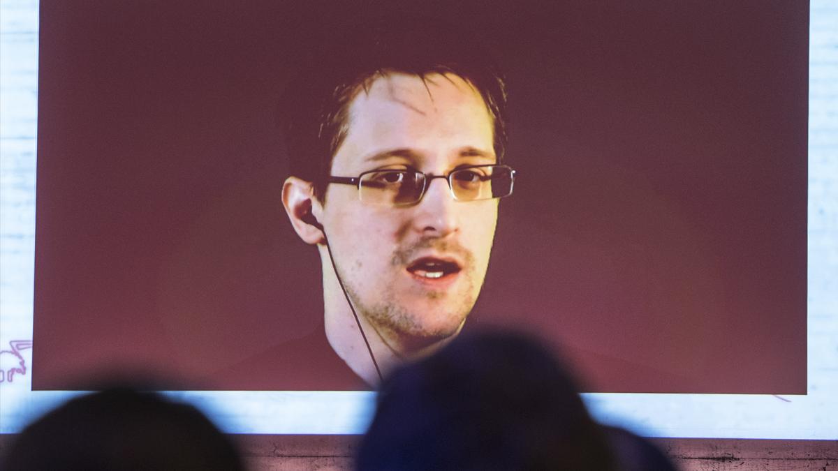 Edward Snowden. (Foto: AFP)