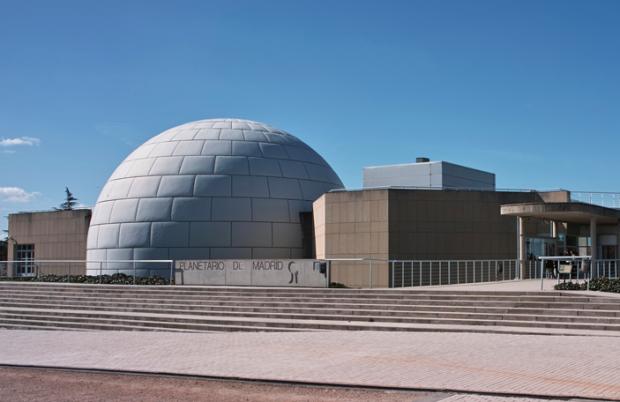 El Planetario de Madrid. (Foto: WM)