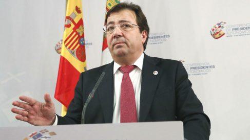 El presidente de Extremadura, Guillermo Fernández Vara (Foto: Efe)