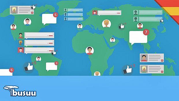 webs apprendre l'anglais busuu gratuit