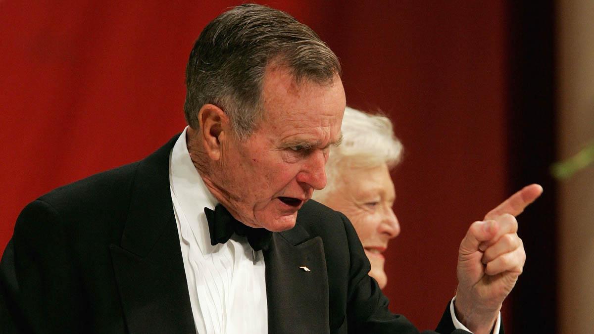 George H. W. Bush llegó a la Casa Blanca en 1989 (Foto: Getty)