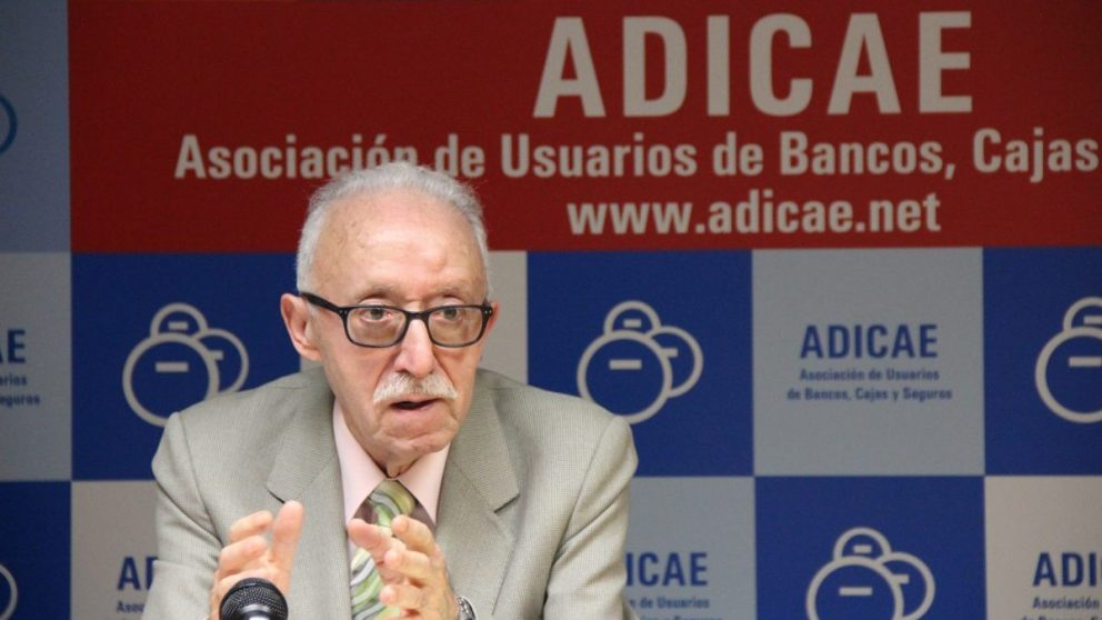 Manuel Pardos, presidente ADICAE.