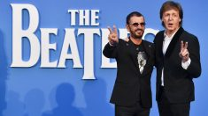 Paul McCartney y Ringo Starr, los dos miembros de The Beatles vivos. (Foto: AFP)