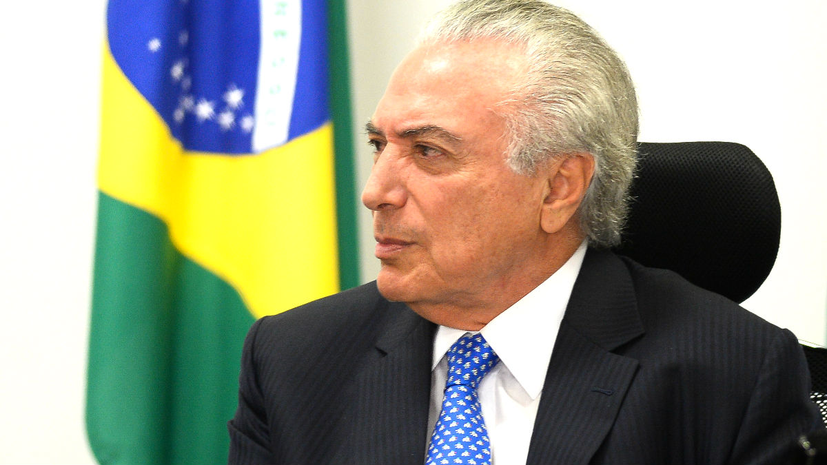 El ex presidente brasileño Michel Temer. (Foto: AFP)