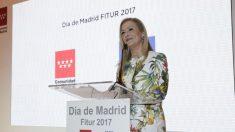 Cristina Cifuentes en FITUR (CAM).