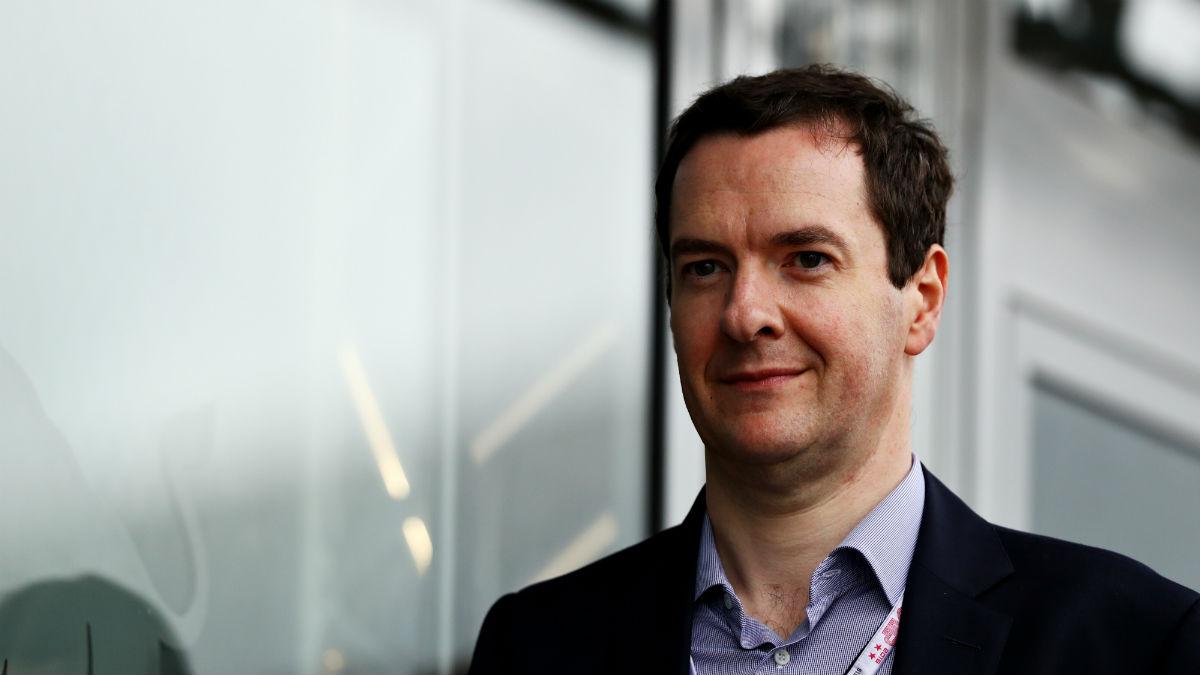 El exministro de Economía de Reino Unido, George Osborne (Foto: GETTY).
