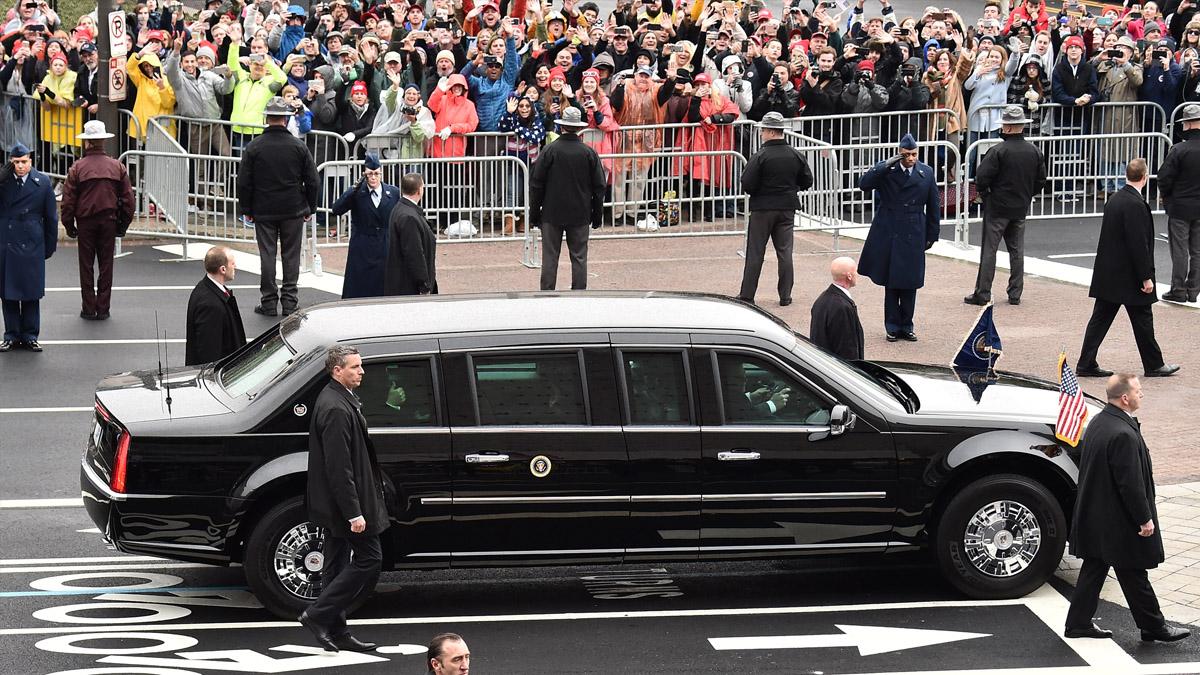 El Cadillac presidencial que hereda Donald Trump data del año 2009 (Foto: Getty)