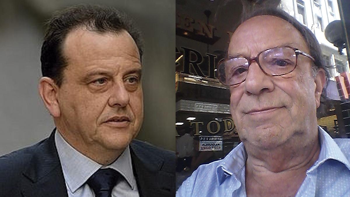 El fiscal Pedro Horrach y el comisionista de Iñaki Urdangarín, Robert Cockx.