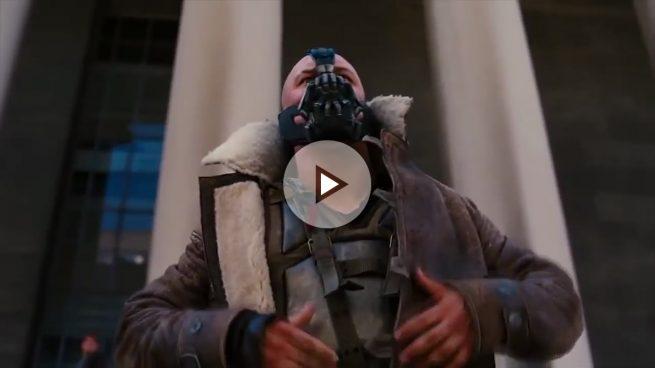 Donald Trump calca su discurso al que dio Bane, el villano de Batman en su última película