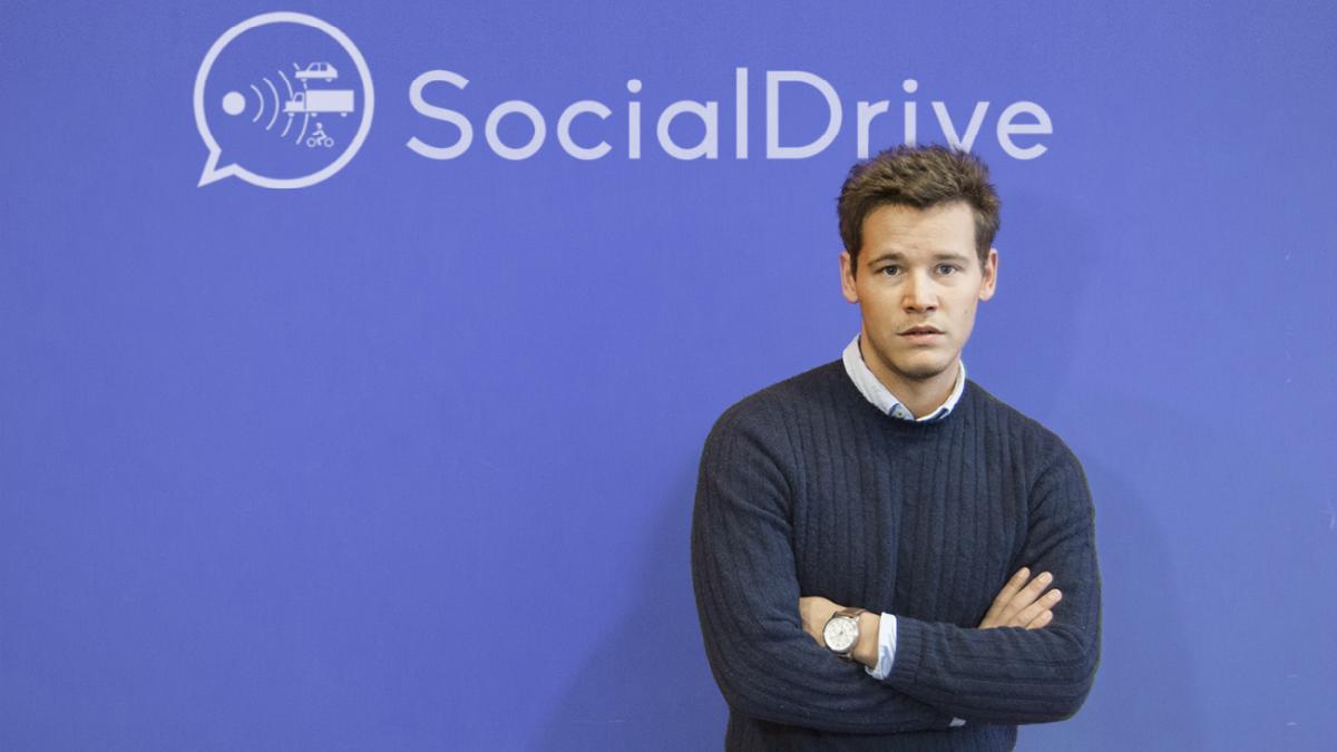 Sergio García, fundador y CEO (Foto: Social Drive).