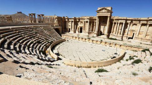 La ciudad histórica de Palmira, en Siria. (Foto: AFP)