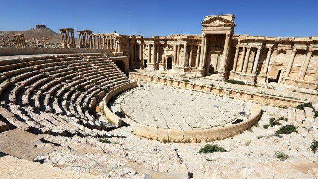 El ejército sirio retoma la histórica Palmira, de la que huyen los terroristas del ISIS